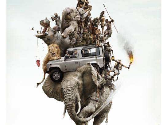 Land Rover Print Ad -  Safari