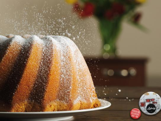 Ludwig Print Ad -  Cake