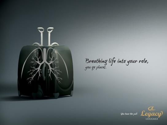 Legacy Print Ad -  Lungs