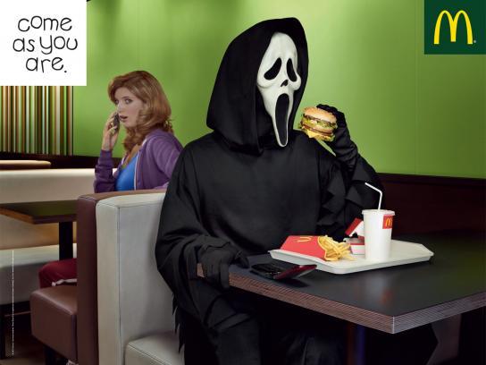 McDonald's Print Ad -  Ghost