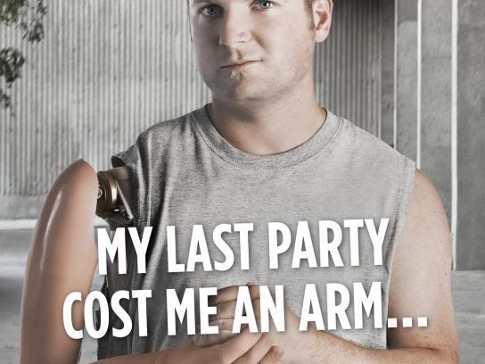 MADD Print Ad -  Arm