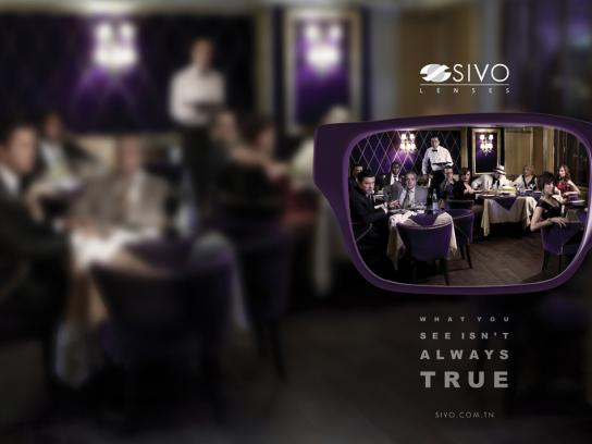 SIVO Print Ad -  Myopie, Mafia Blues