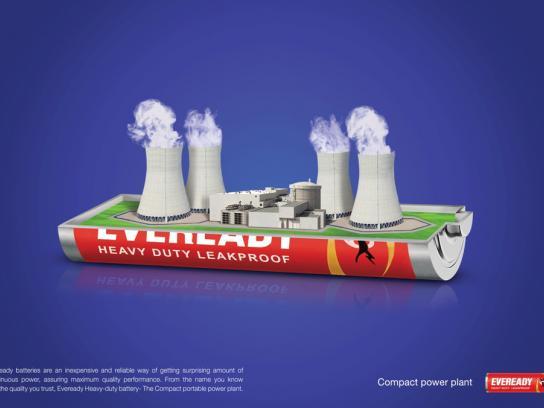 Eveready Print Ad -  Nuclear