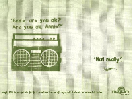 Magic FM Print Ad -  Dialogues, 2