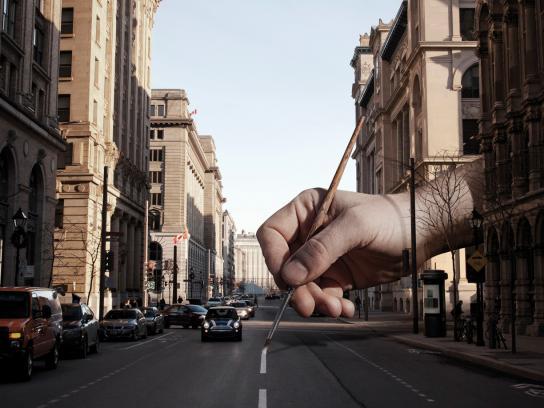 Magimage Print Ad -  City