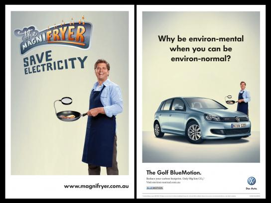 Volkswagen Print Ad -  Magnifry