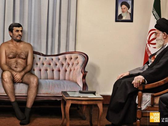 Vanguardia Print Ad -  Mahmoud