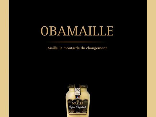 Maille Print Ad -  Obamaille
