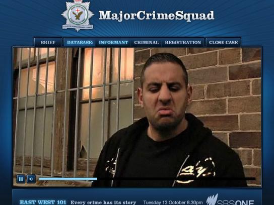 Major Crime Squad Digital Ad -  Investigation Website