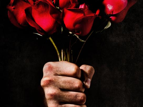 Defensoria del pueblo Print Ad -  Flowers