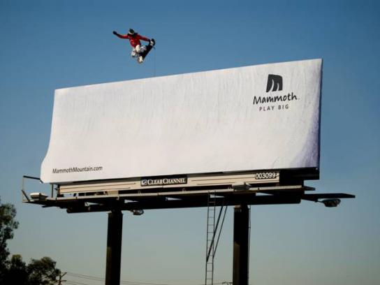 Mammoth Ambient Ad -  Play big
