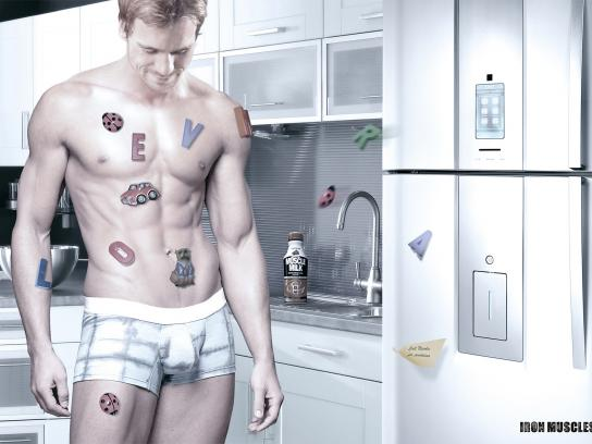 Muscle Milk Print Ad -  Man