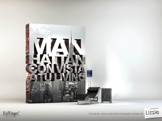 Lizzie Design Print Ad -  Manhattan