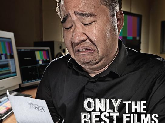 Calgary International Film Festival Print Ad -  Man Kin