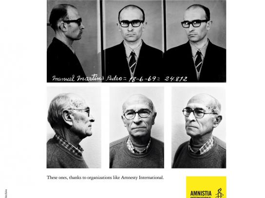 Amnesty International Print Ad -  Manuel