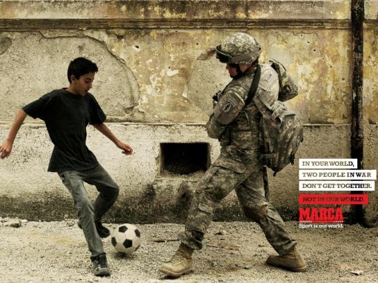 Marca Print Ad -  Iraq