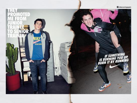 Nike Print Ad -  Run Madrid, Marcos