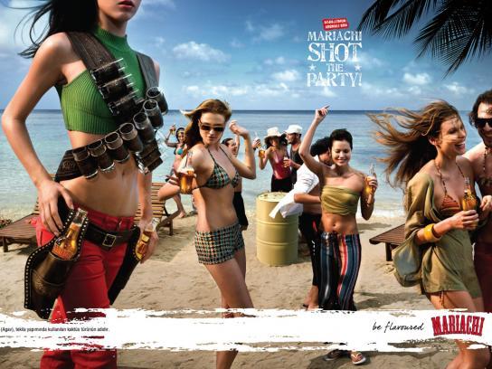 Mariachi Print Ad -  Beach