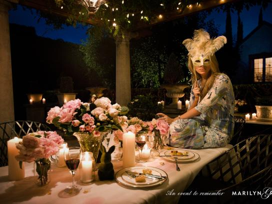 Marilyn Grace Print Ad -  Mask