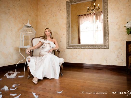 Marilyn Grace Print Ad -  Wedding