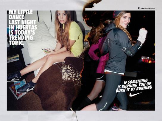Nike Print Ad -  Run Madrid, Mariña