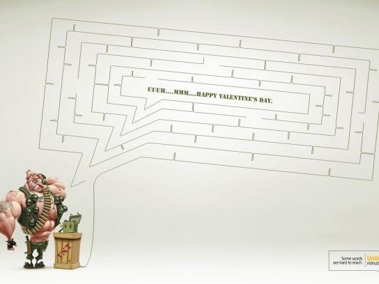 VTR.com Print Ad -  Unlimited minutes plan, Marine