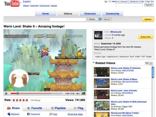 wii Digital Ad -  Mario