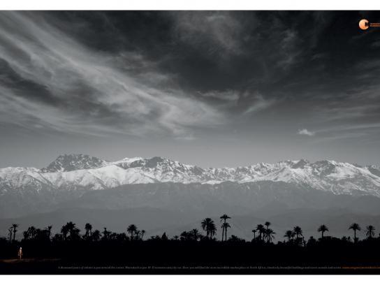ScandMar Print Ad -  Mountains