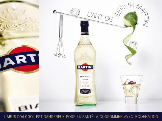 Martini Print Ad -  Art, 1
