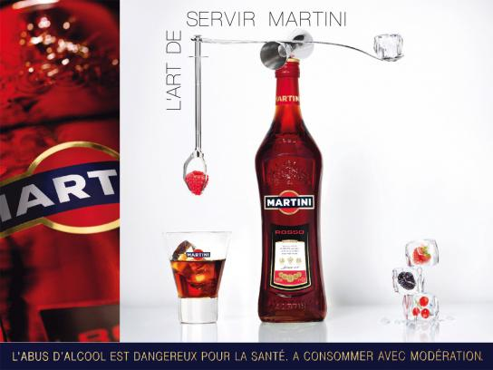 Martini Print Ad -  Art, 3