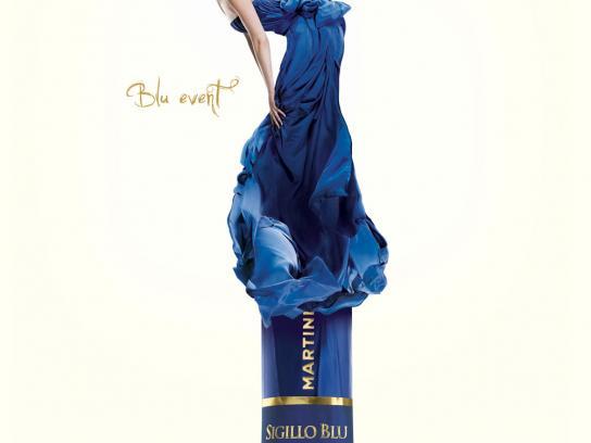 Martini Print Ad -  Blu Event