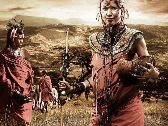 Samsung Print Ad -  Masai