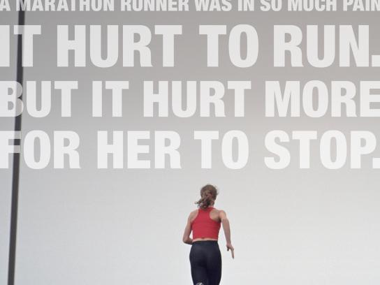 Massachusetts General Hospital Print Ad -  Runner