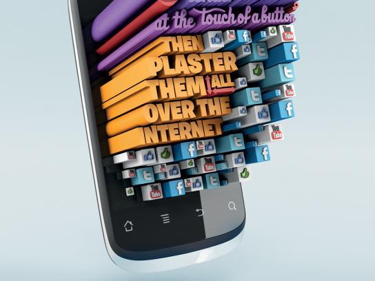 Huawei Print Ad -  Master Plasterer