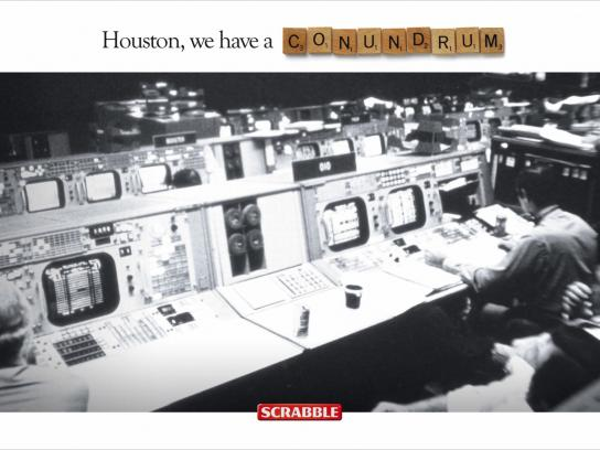 Scrabble Print Ad -  Houston