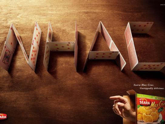 Max Croc Print Ad -  Nhac Cards