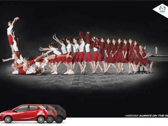 Mazda Print Ad -  Free exercise