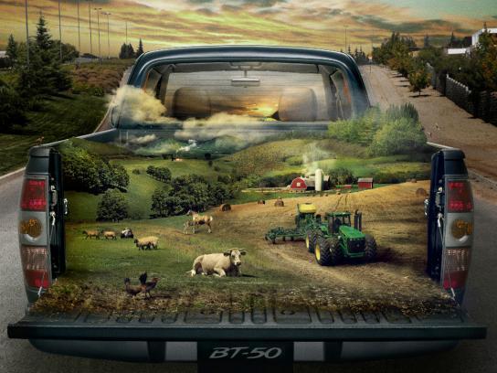 Mazda Print Ad -  Farm