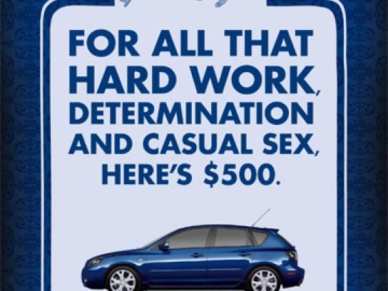 Mazda Print Ad -  Sex