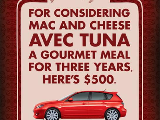 Mazda Print Ad -  Tuna