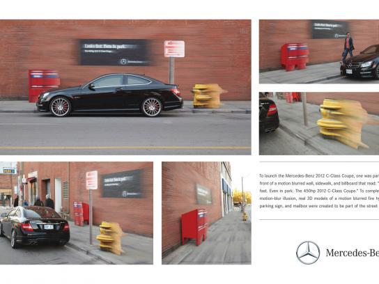 Mercedes Ambient Ad -  Blur