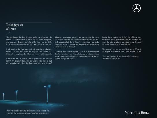 Mercedes Print Ad -  Thrilling Trips, 2