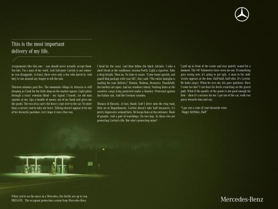 Mercedes Print Ad -  Thrilling Trips, 3