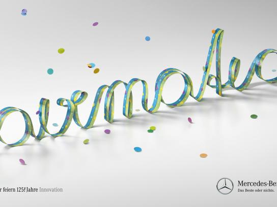 Mercedes Print Ad -  125 years of innovation, Airmatic