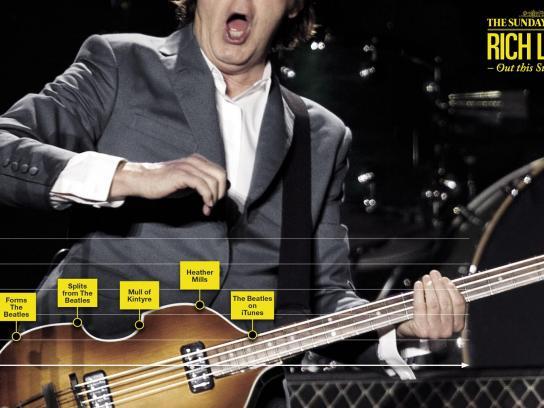 The Sunday Times Print Ad -  McCartney