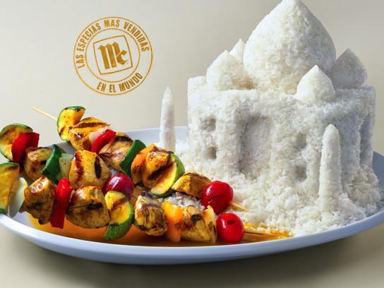 McCormick Print Ad -  Taj Mahal-Curry