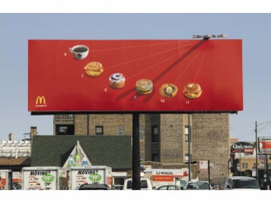 McDonald's Ambient Ad -  Sundial