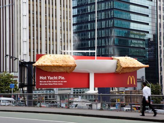 McDonald's Outdoor Ad -  Pie