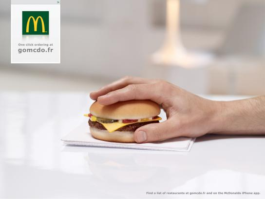 McDonald's Print Ad -  GoMcDo