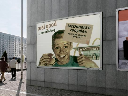 McDonald's Outdoor Ad -  Cheap